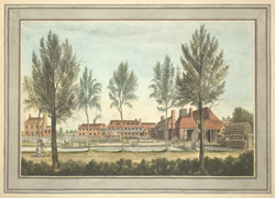 View of the Calico Grounds, Isleworth
